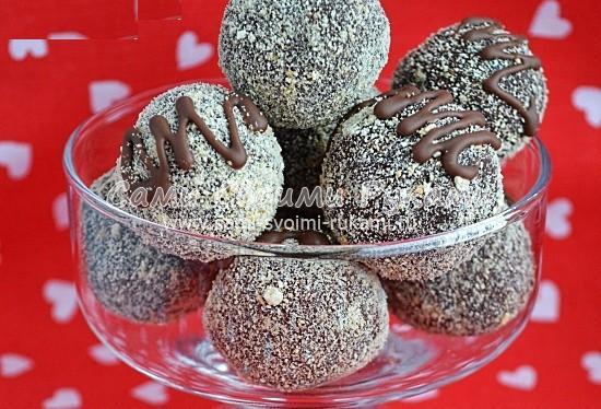 В домашних условиях конфеты из печенья