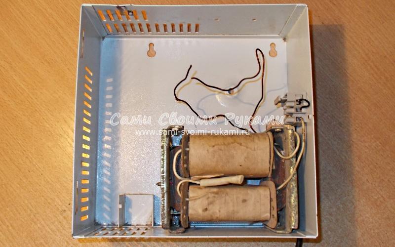 Как из трансформатора сделать зарядное устройство для  704