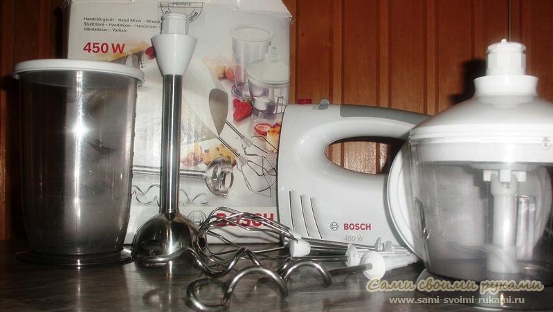 Чудесный миксер Bosch MFQ 3580
