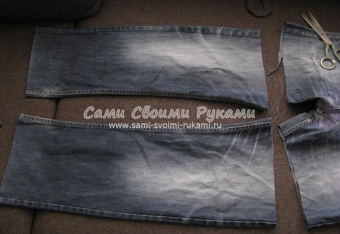 2b82c0ff9703 Как сшить сумку из старых джинсов своими руками, мастер класс с фото ...
