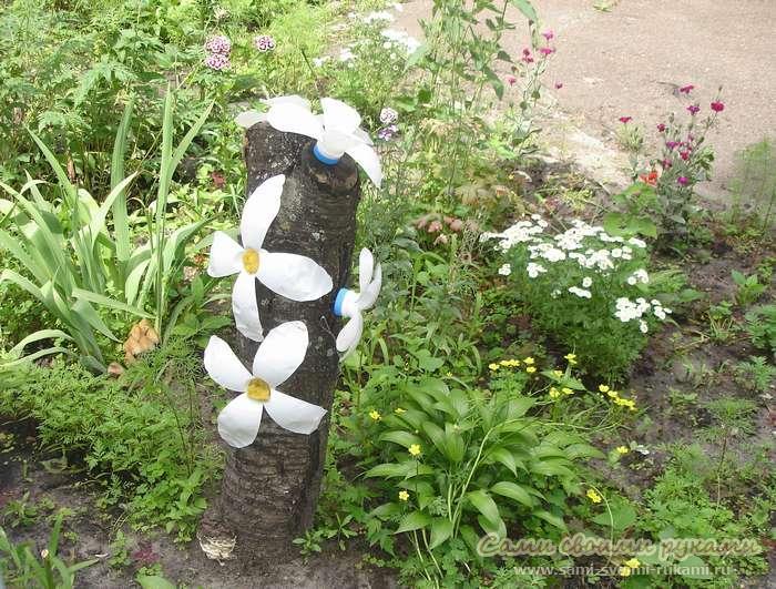 Поделки из пены для сада и огорода для начинающих