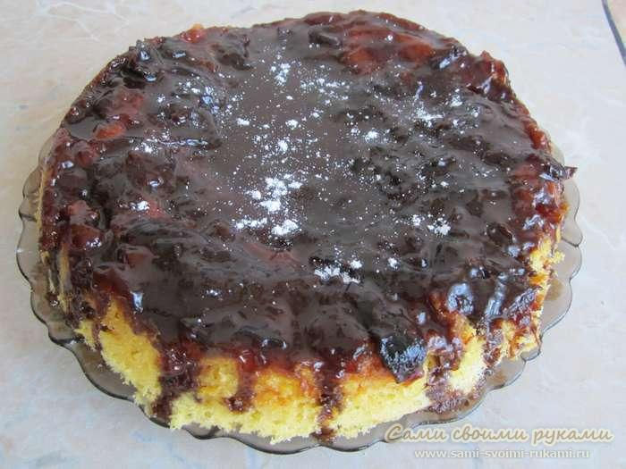 Сливовый торт в мультиварке, как приготовить