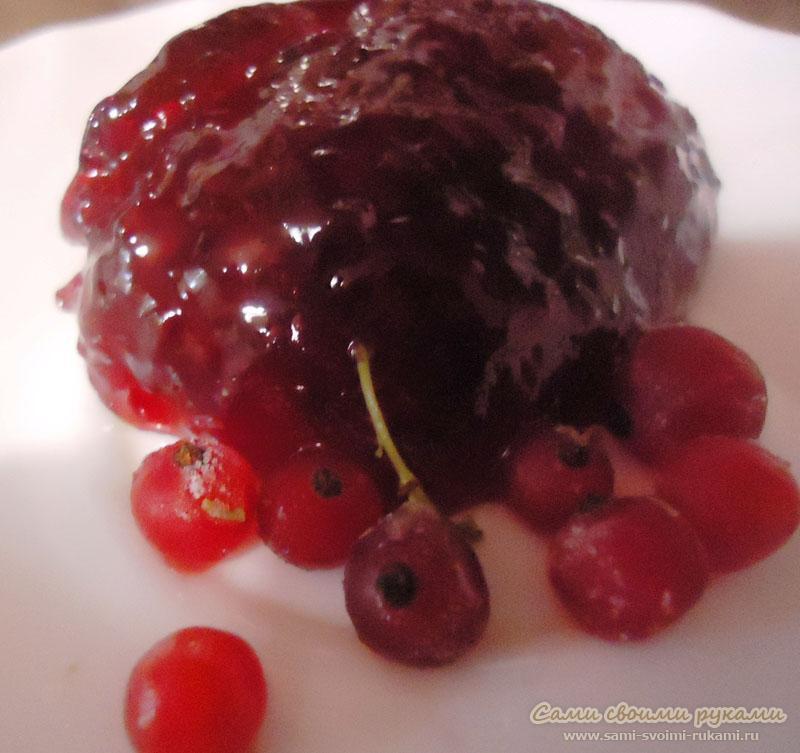 Желе из красной смородины - рецепт с фото