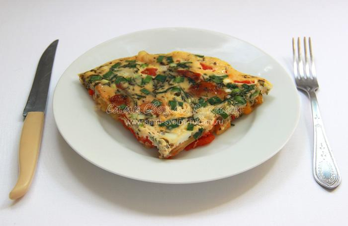 Тортилья или омлет по-испански