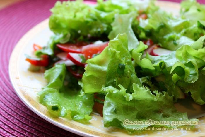 Салат из редиски (летний)