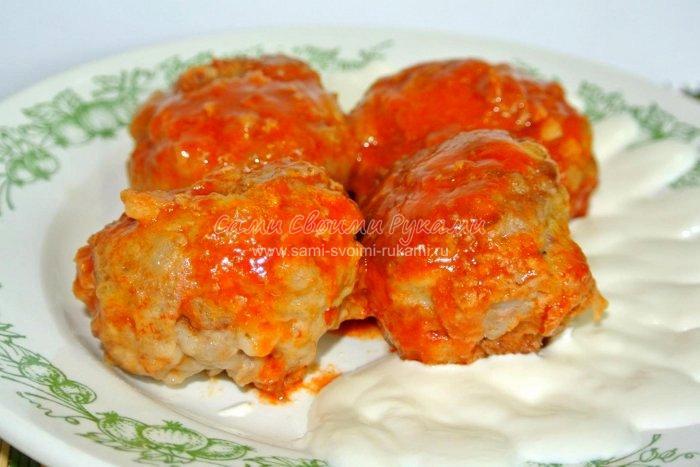 Классические тефтели в томатном соусе