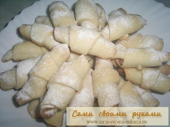 Печенье с курагой - рецепт