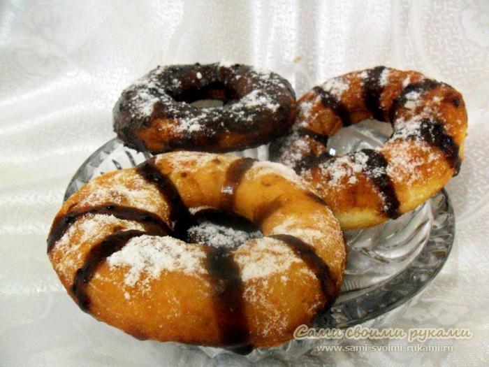 Рецепты пончиков - лучшее с фото