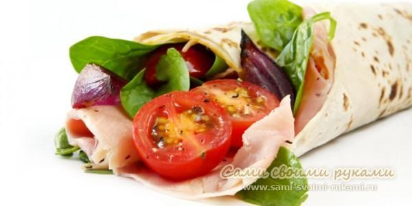 Рецепты блюд из лаваша