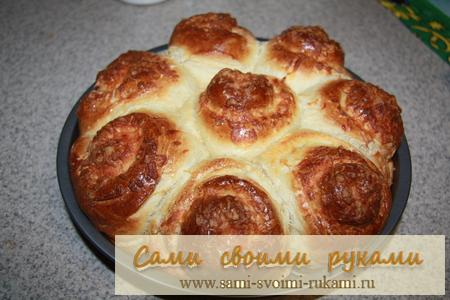 Чесночные булочки - рецепт