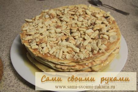 Быстрый торт - Карамельный