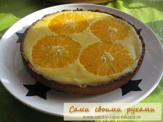 Апельсиновый пирог - рецепт