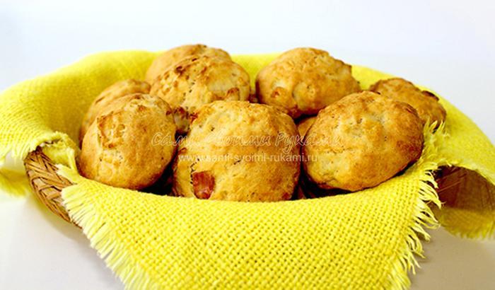 Рецепт простого печенья с яблоками