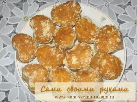 Кексики на кефире - рецепт