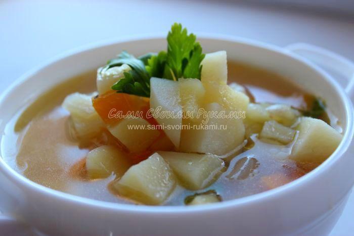 Рецепт картофельного супа