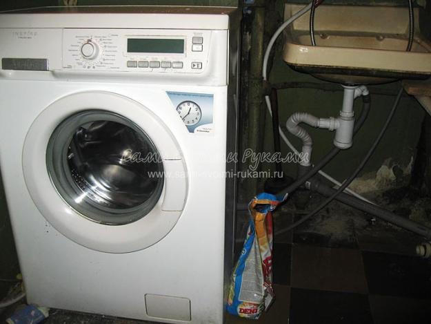 Подключение к водопроводу стиральной машины