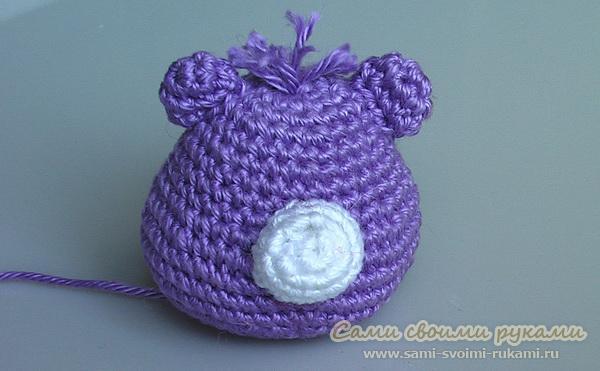 Вязание мишки Амигуруми крючком - схемы, фото (мастер класс) .