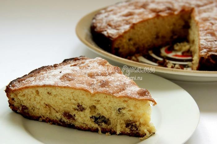 Кекс Столичный, рецепт из прошлого