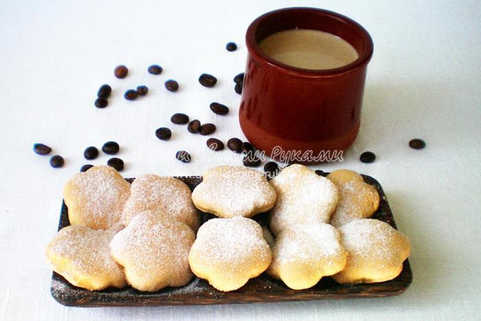 Рецепт печенья кофейного
