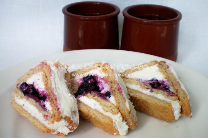 Рецепт творожного пирожного без выпечки