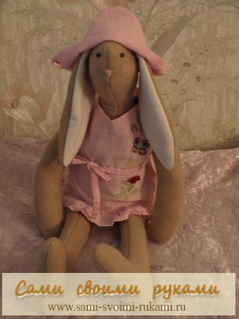 Кролик Тильда - выкройка