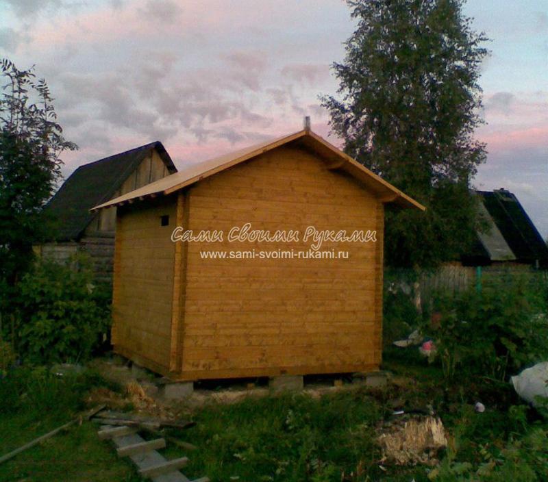 Башкирский омшаник для пчел, как построить