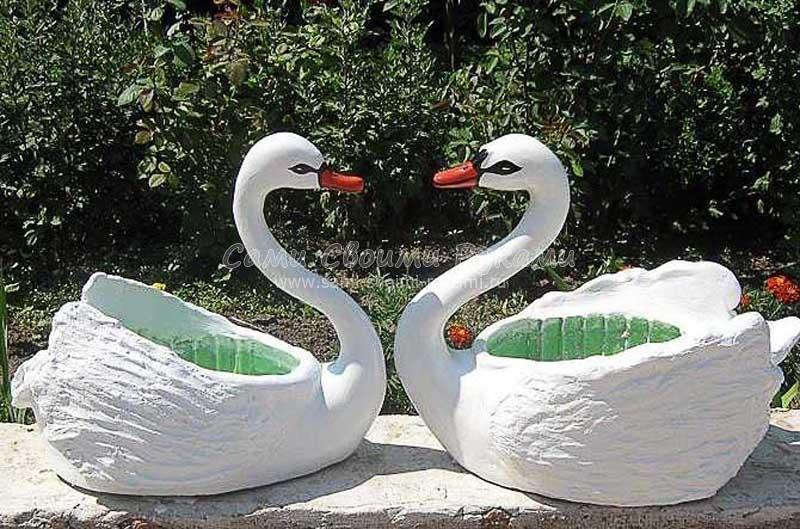 Лебедь для сада (часть 1)
