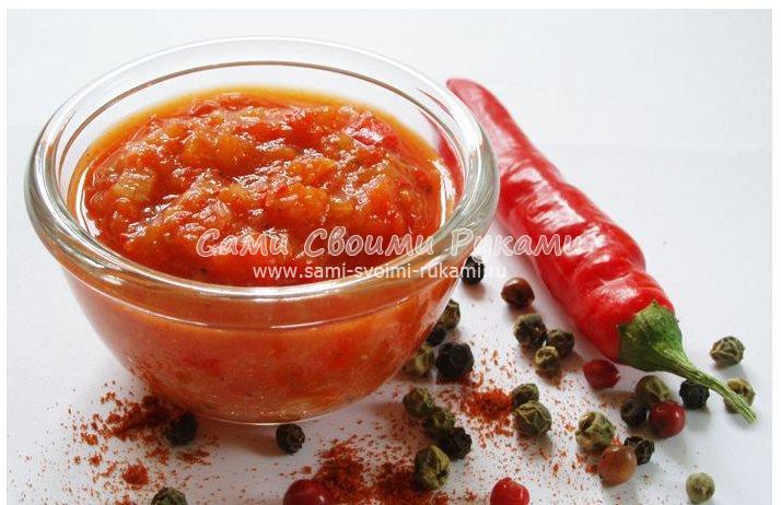 Аджика из кабачков на зиму - несколько рецептов