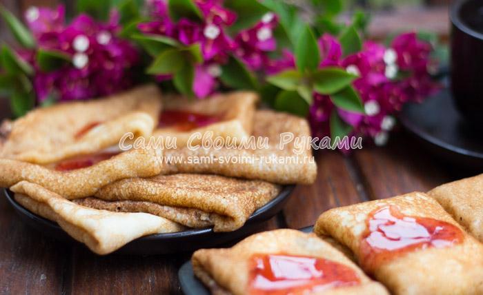 Как приготовить вкусные блины - все рецепты блинов с пошаговыми фото