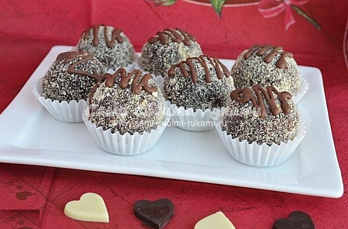 Как приготовить конфеты из печенья