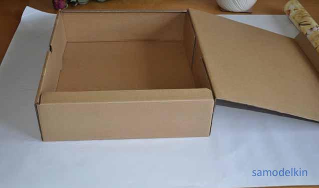 Коробка с тайником - Что можно сделать из коробки из-под конфет : Hand-made
