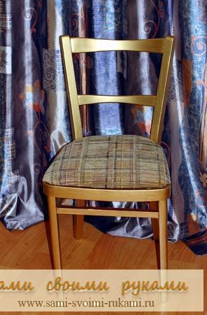 Декорирование старого стула