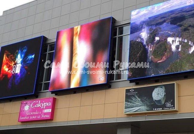 Мониторы, LED панели и телевизоры