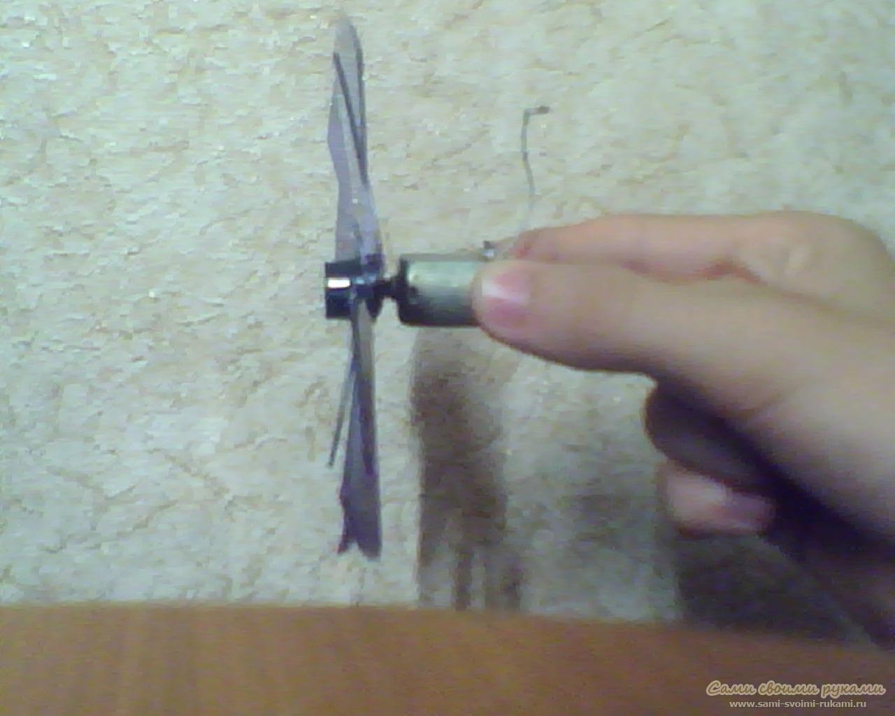 Вентилятор с usb своими руками