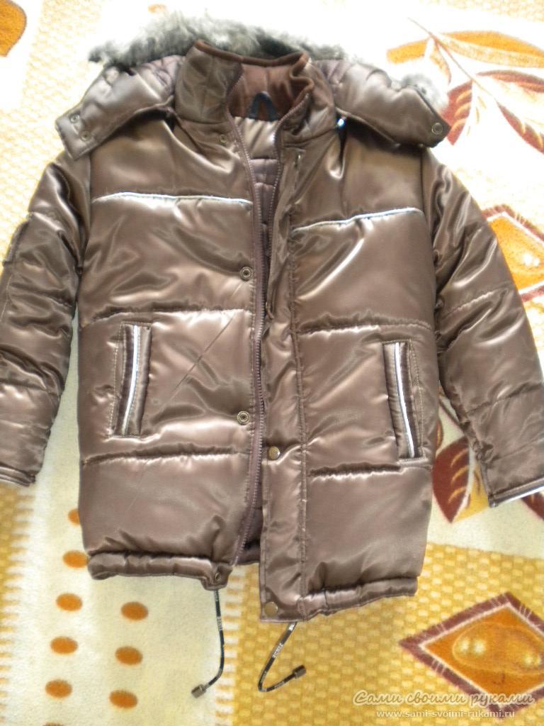 Выкройка детской зимней куртки