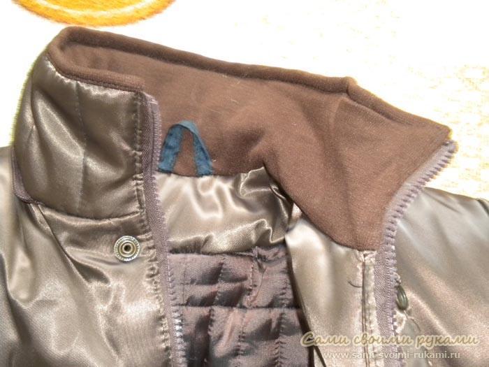 Из чего сшить зимнюю куртку 55
