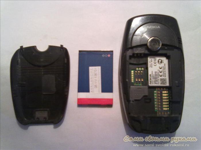 Мобильный телефон ремонт своими руками