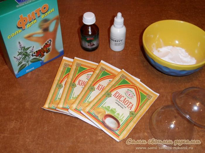 Бомбочки для ванны своими руками: эффект джакузи 36