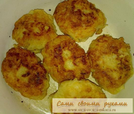 Котлеты из капусты - рецепт