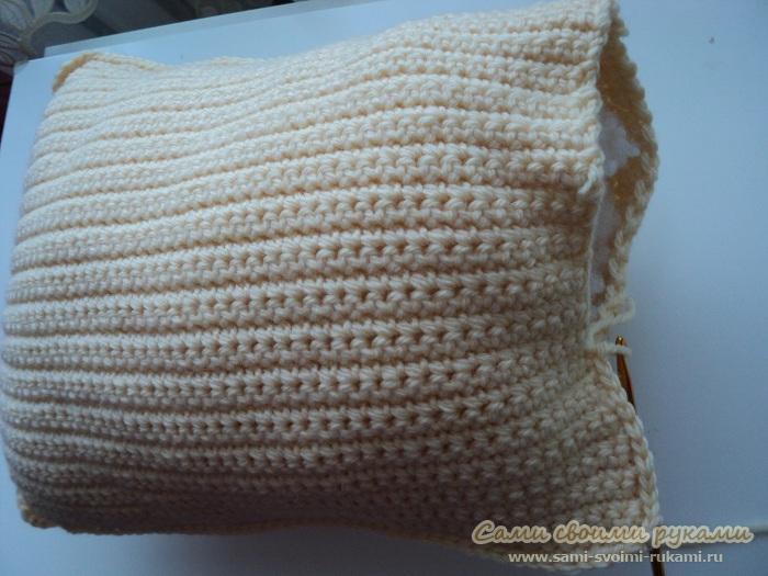 подушка женская грудь вязание крючком схема фото сами своими