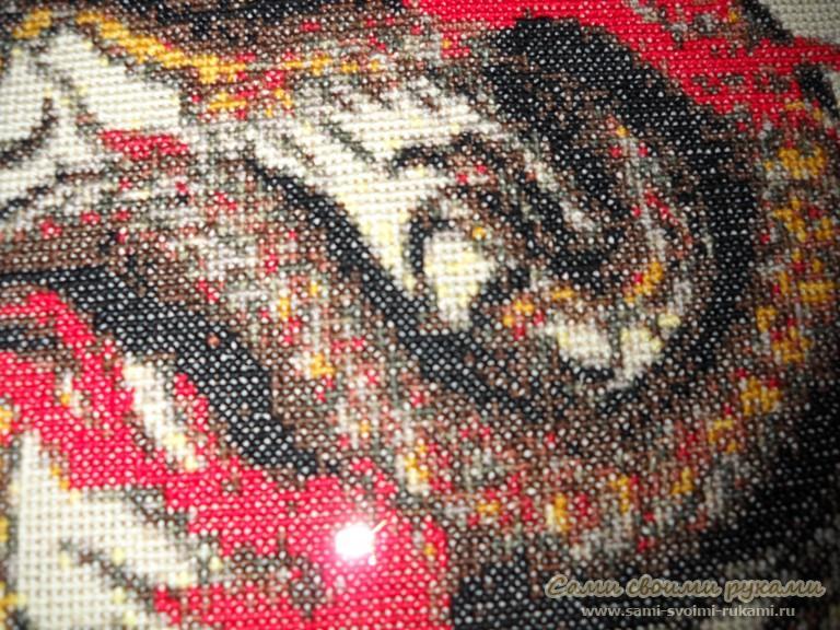 Рхема вышивки Китайский дракон
