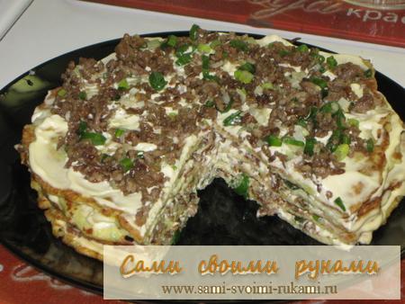 Рецепт творожного пирога с голубикой