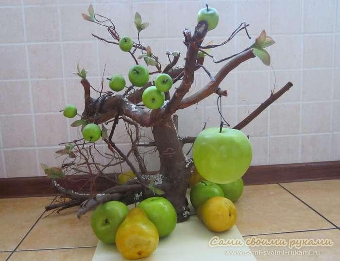 Как сделать яблочки своими руками