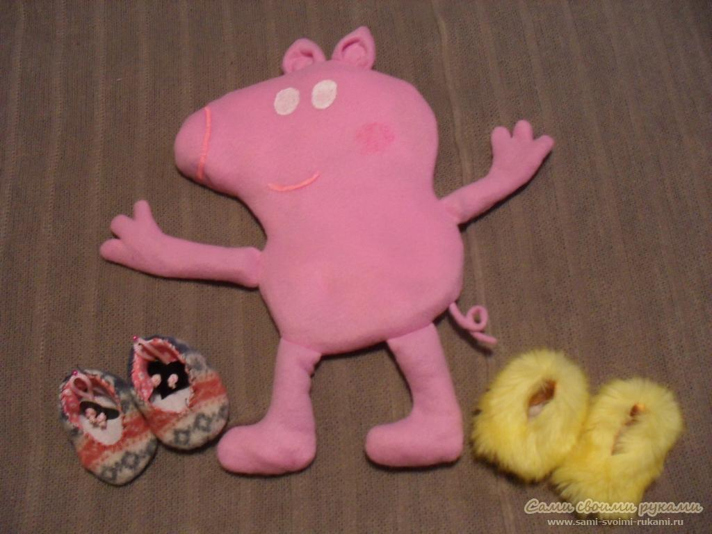Свинка пеппа сшить своими руками