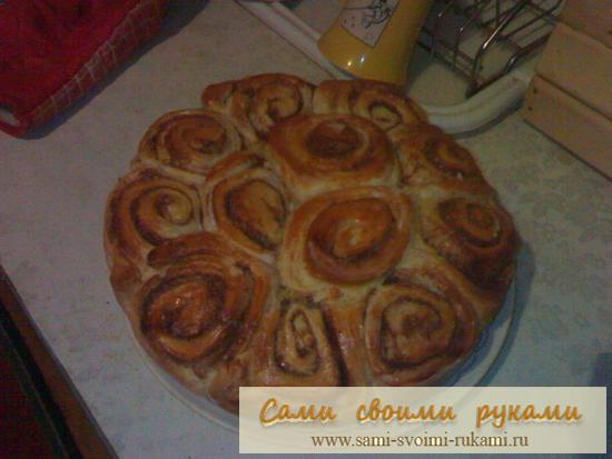 Пирог с корицей - рецепт