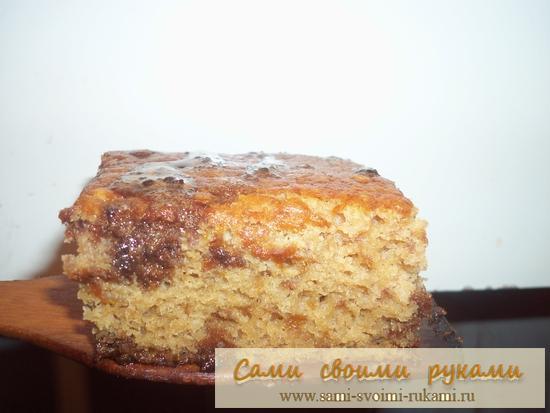 Пирог с вареньем - рецепт приготовления