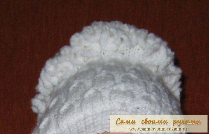 вязание спицами женские шапки