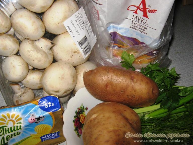рецепт крем-супа из грибов со сливками