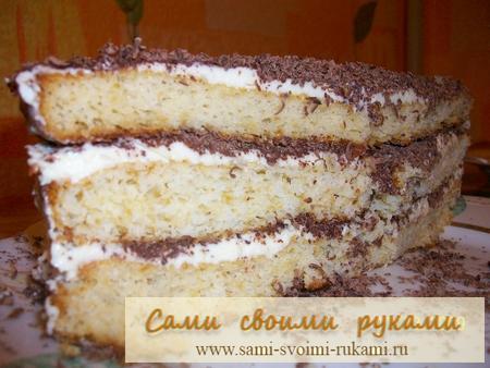Рецепт торта черный принц сметане фото