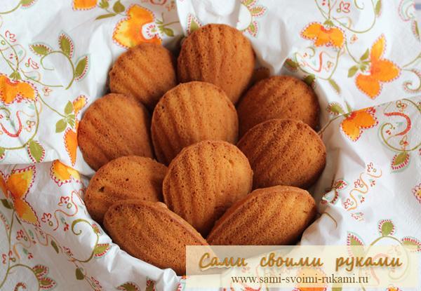 Печенье Мадлен - рецепт